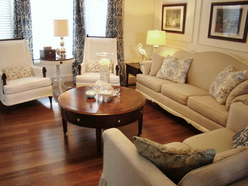 Simple living room ideas for limited space of room midcityeast Round coffee table in living room