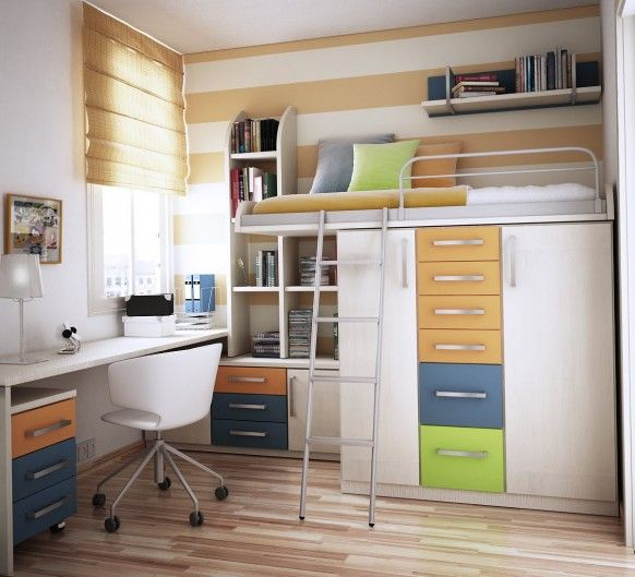 Seductive Bunk Bed With Storage also Study Table Plus Chair