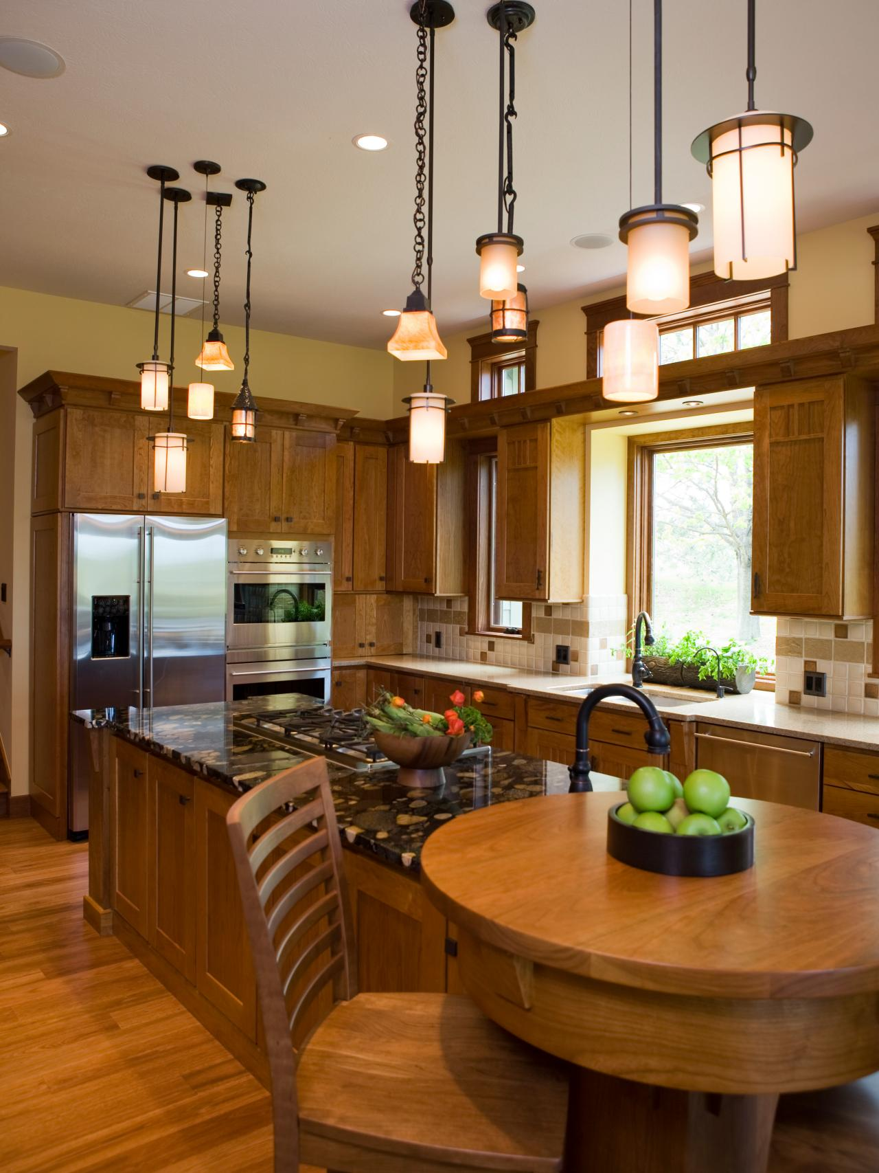 Kitchen Island Light Fixture Height