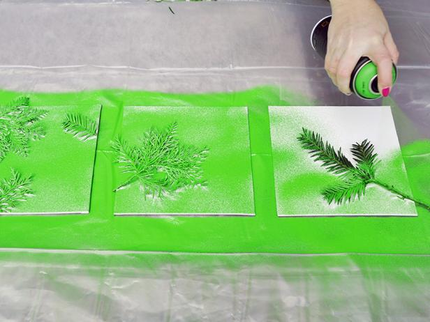 Simple Steps To Make Wall Art Of Leave With Paper and Paint