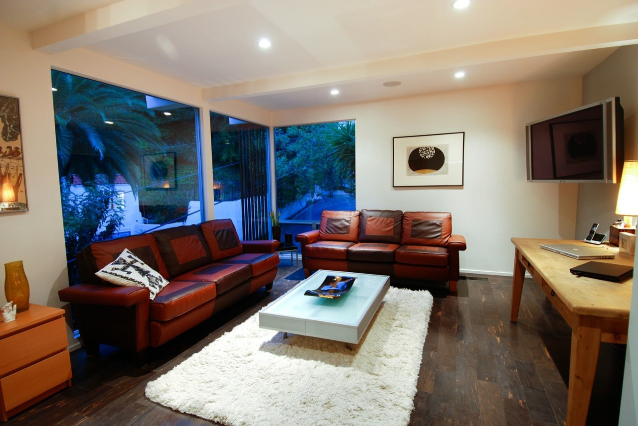 Taking Family Room With Brown Sofa For Contemporary Interior Design Ideas