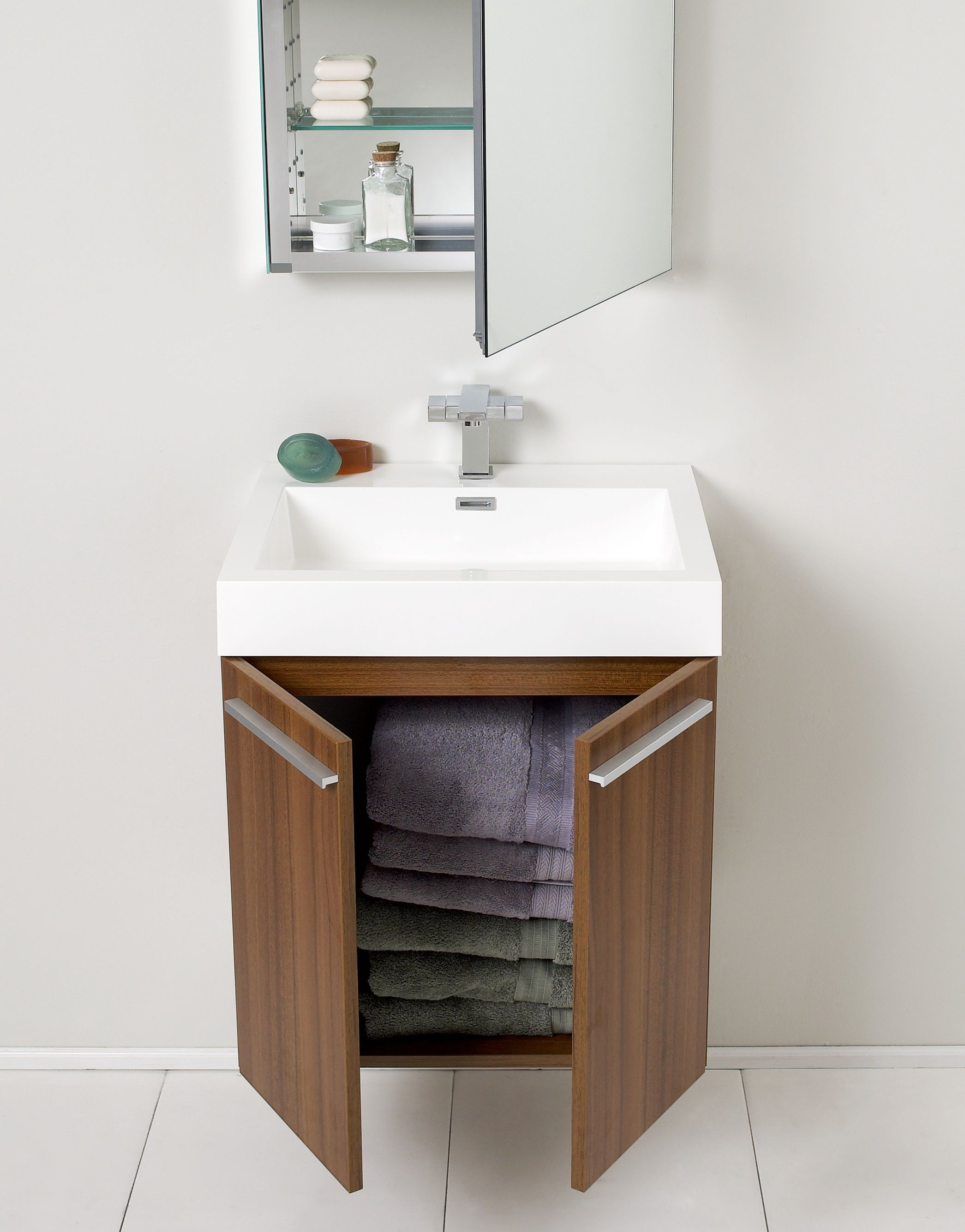 A small bathroom cabinet for your small bathroom midcityeast for Compact sinks for small bathrooms