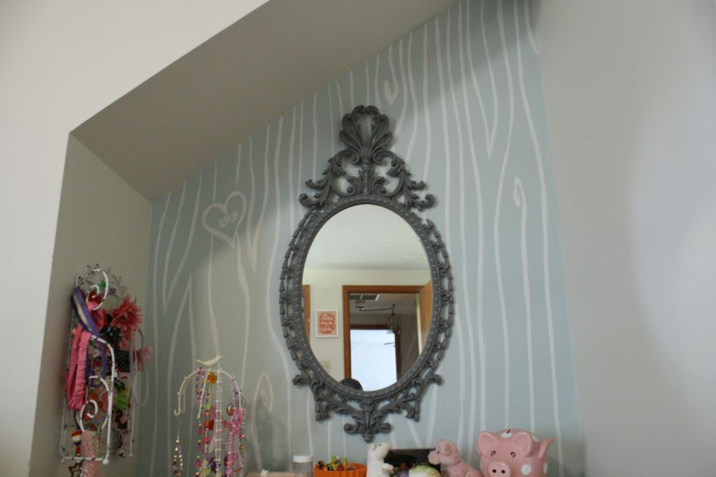Wonderful Wall Decor also Oval Mirror With Unique Frame Design