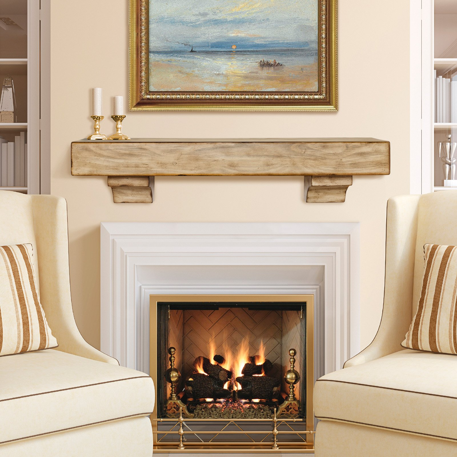 Beautiful Fireplace Mantels Ideas To Warm Your Home In The