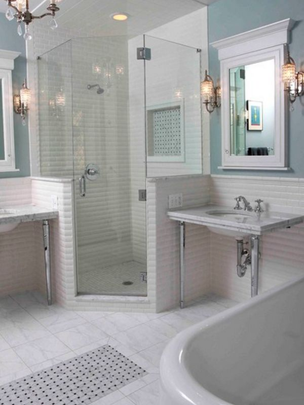 Bathroom and shower remodel ideas and tricks for a limited for Limited space bathroom ideas