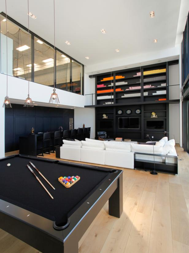 Captivating Sofa also Lush Bar Plus Modern Pool Tables Design