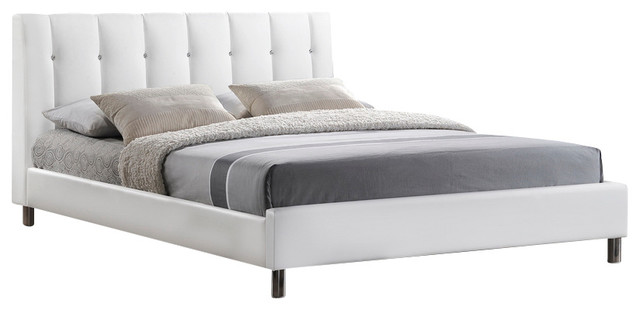 Contemporary Design Of Full Bed Headboard Also Lush Duvet And Pillows Design Inspirations