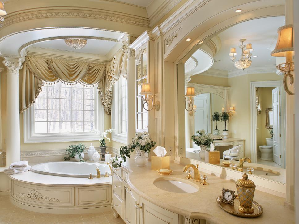 Dazzling Corner Bathtub also Modern Cabinet For Best Interior Bathroom