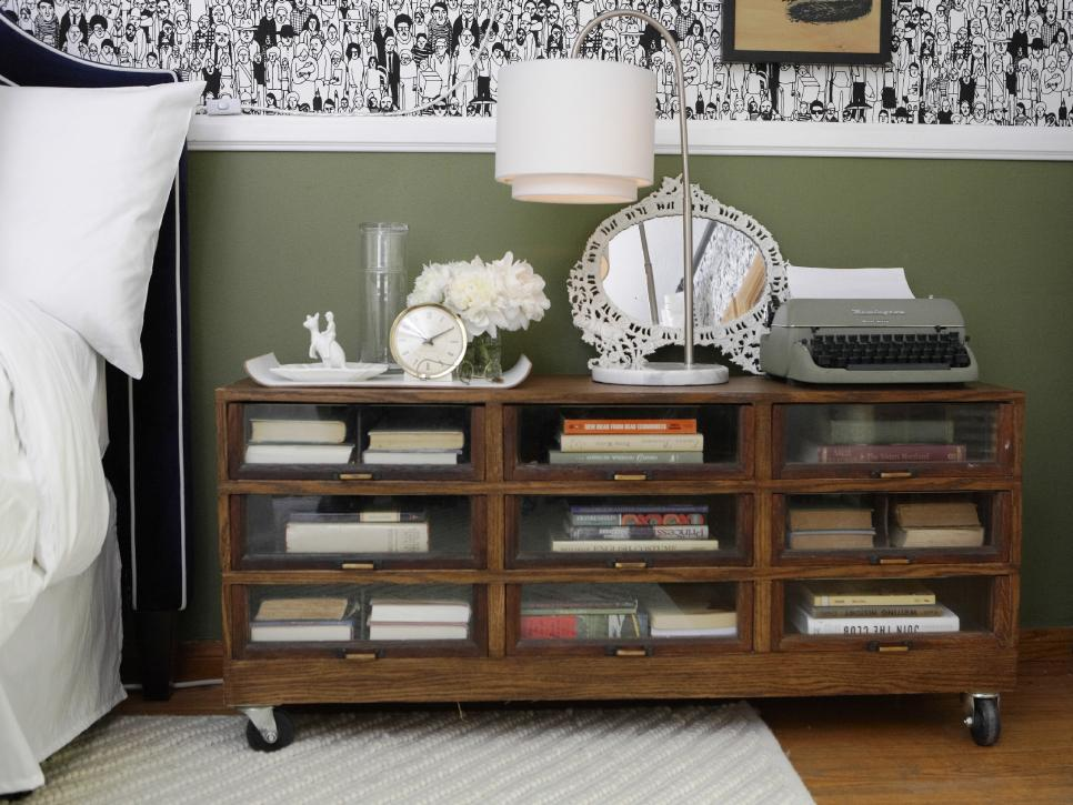 Hunky Rolling Book Storage Ideas With Visible Glass Door