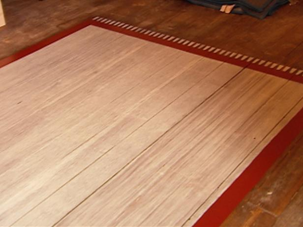 Interesting Faux Wood Flooring For Decorating Private Or Public Room