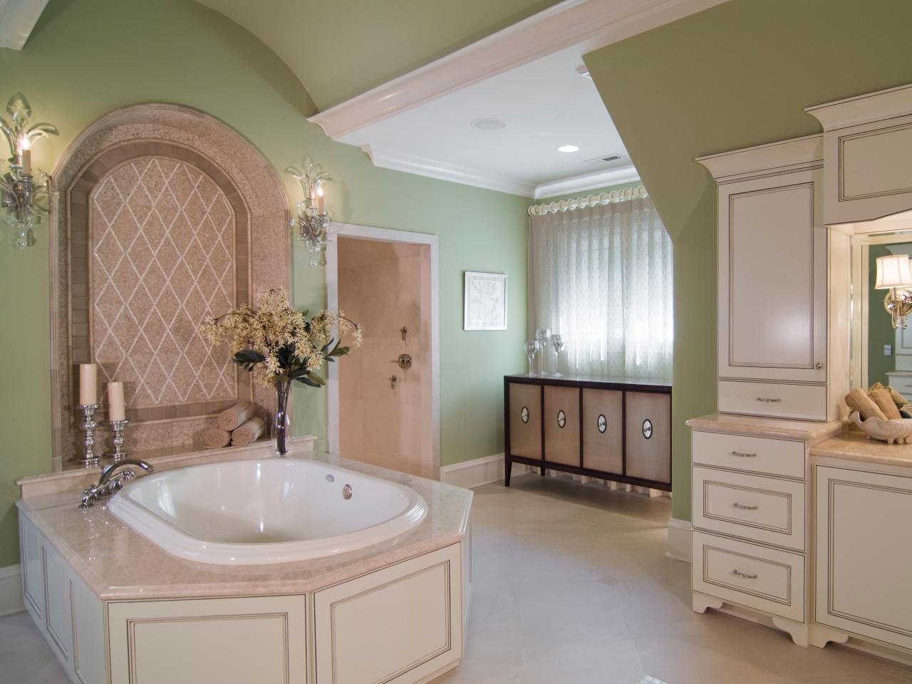Big master bathroom ideas - Lavish Interior Master Bathroom Designs
