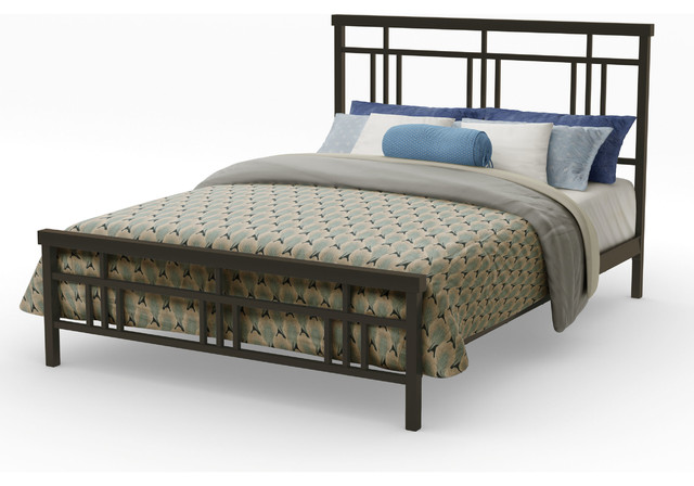 Magnificent Bed With Full Headboard Decor also Blue Pillows Decor