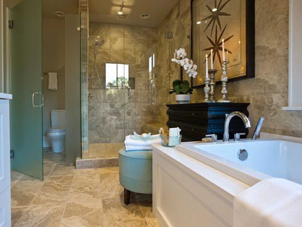 Why you should planning master bathroom layouts midcityeast - Master bathroom decorating ideas ...