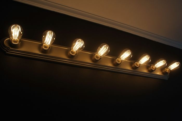 Captivating Interior Room Design Using Simple Wall Mounted Lamps Fixture