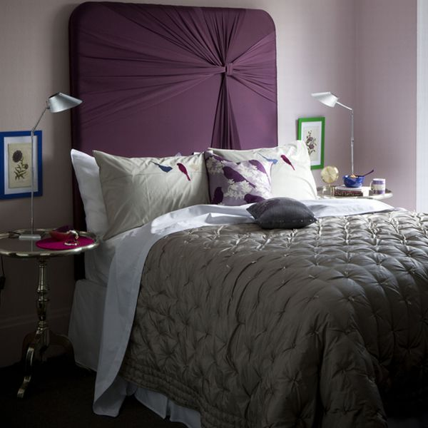 Fantastic Bedroom Side Tables also Arch Lamps plus Lush Headboard Style