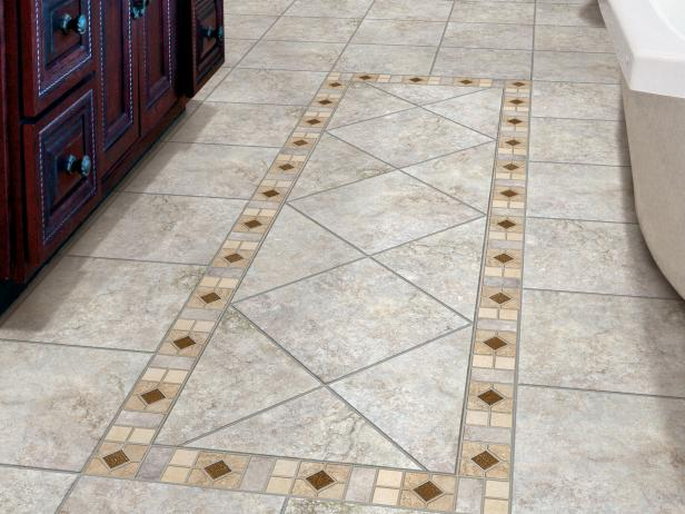 Grand Style Of Ceramic Tile in Square and Triangular Shape