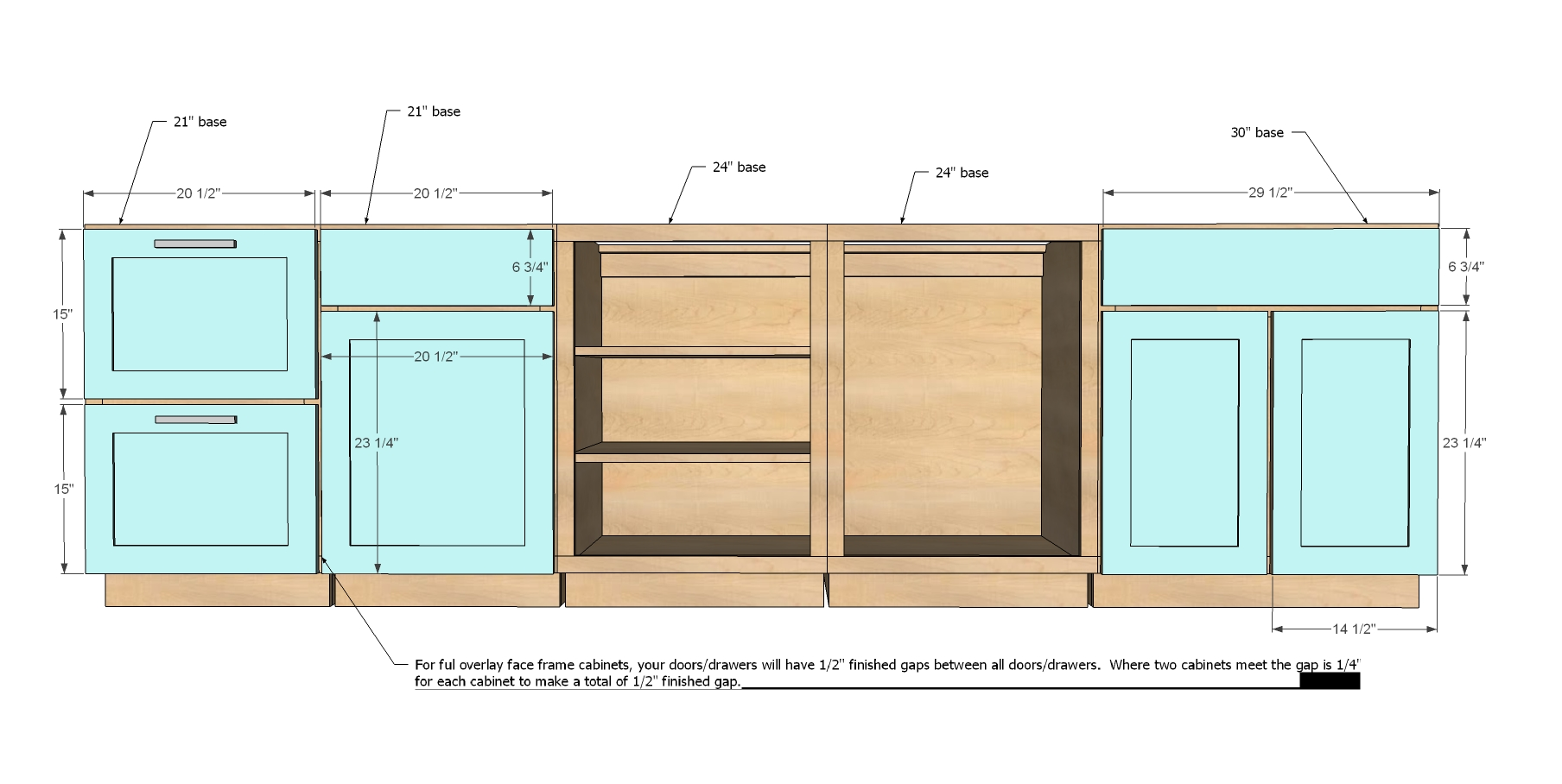 Some important things to notice before deciding the for Kitchen cabinet depth lower