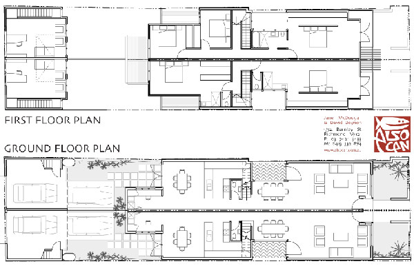 Awesome Floor Plan Design For Ground and First Floor House