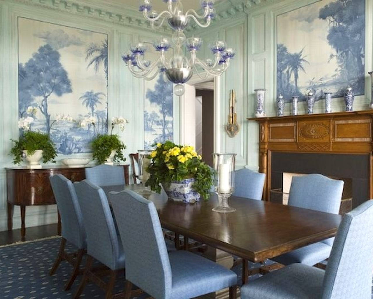 blue dining room you can use the tips above to get perfect blue