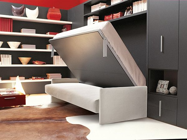 Superbe Fabulous Sofa Design With Storage Also Mounted Book Shelve Ideas