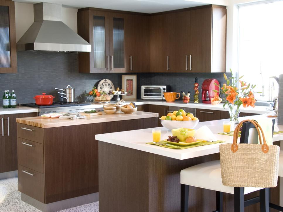 Fabulous Wooden Cabinet With Gray Kitchen Color Trends Design Ideas