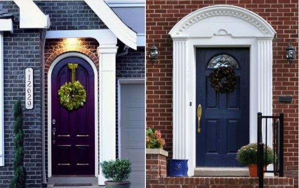 Fantastic House With Wooden Modern Exterior Doors also Chic Accessory