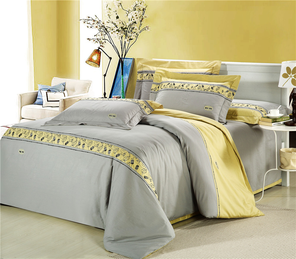 Why yellow and gray bedroom is recommended to have for Gray and yellow bedroom