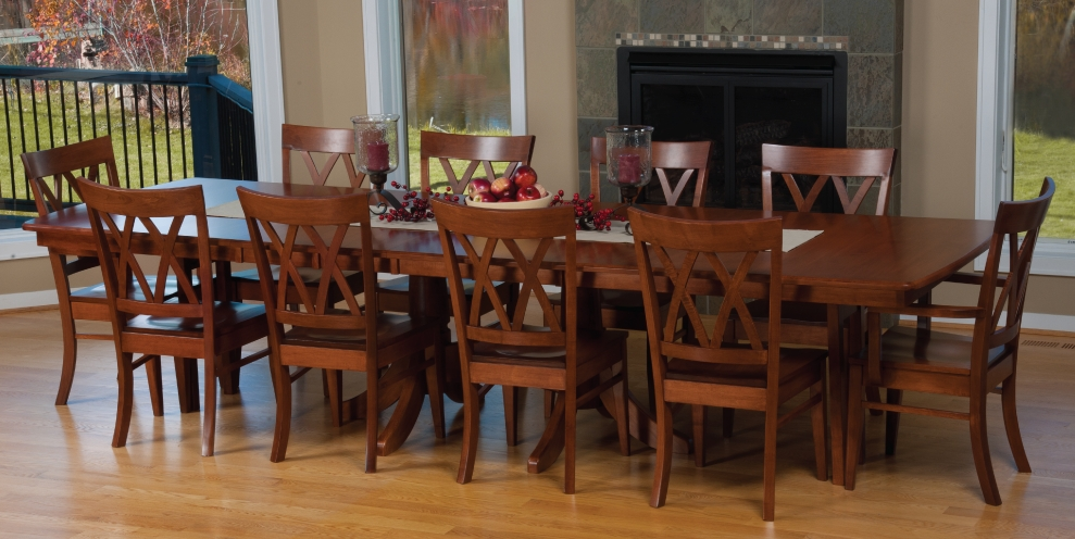 Selecting the Right Choice 10 Person Dining Table by  : Magnificent Concept of 10 Person Dining Table With Simple Wooden Chairs from midcityeast.com size 989 x 496 jpeg 364kB