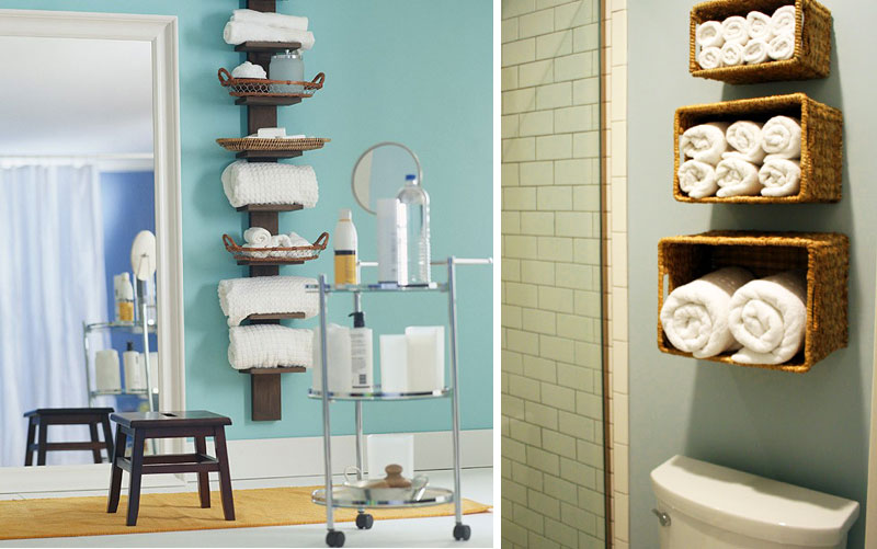 Mesmeric Wall And Rolling Bathroom Storage Shelves Also Wooden Stool