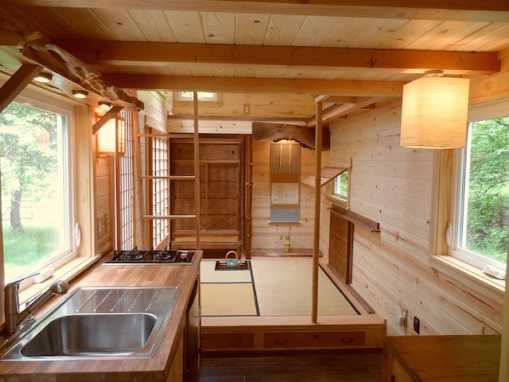 Bon Nervous Kitchen Japanese Style With Wooden Cabinet Also Pendant Lighting