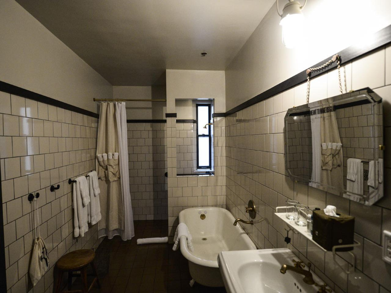 Opulent Interior Remodel Small Bathroom With White Wall Ceramic Tile