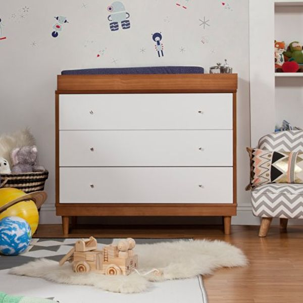 Beautiful Style Of Modern Baby Furniture Using Nice Wooden Dresser