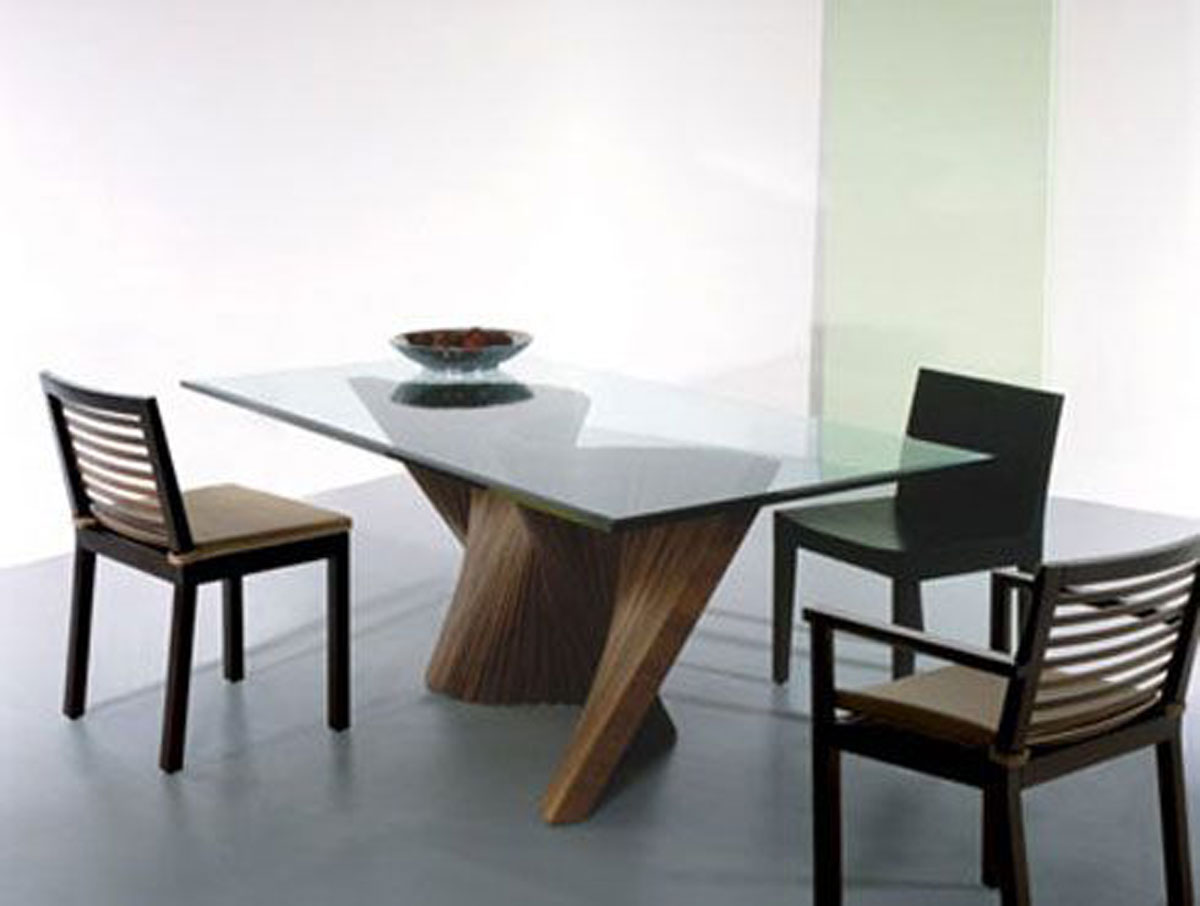 Modern glass dining table designs - Modern Glass Dining Table Sets