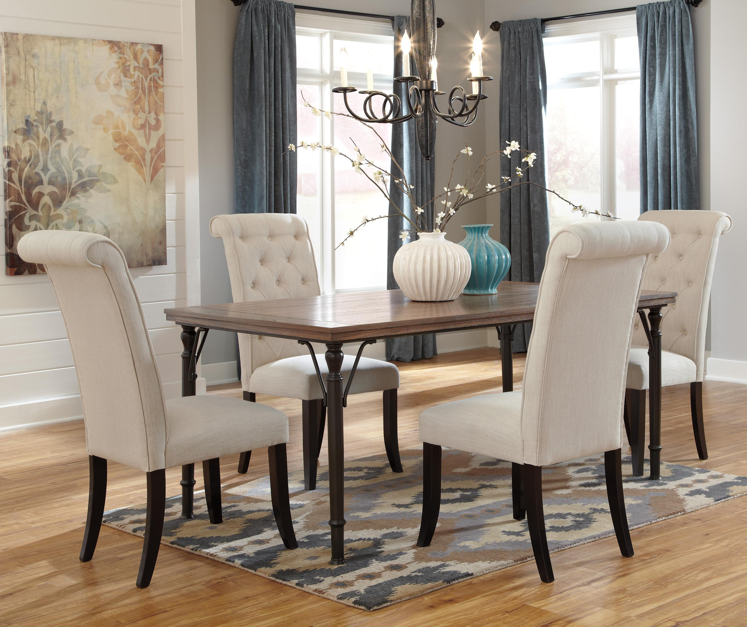 dining room chair ideas | Wood Flooring Ides with Hardwood Floors - MidCityEast