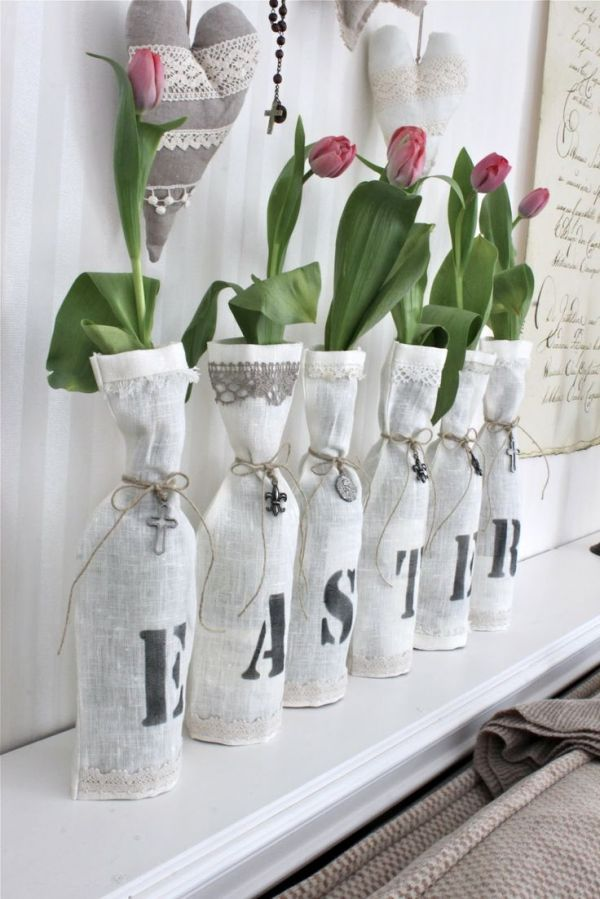 Fantastic Flowers On Nice Vase For Best Spring Decorating Concept