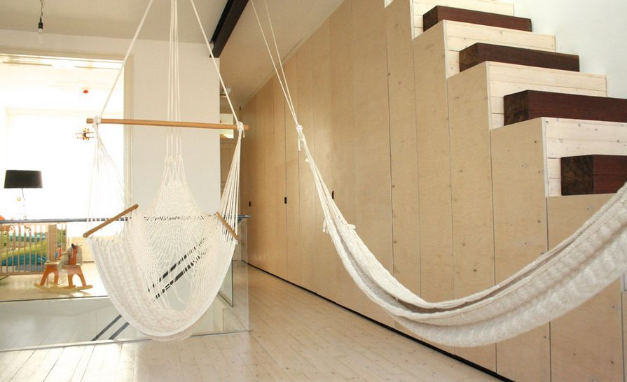 Horrible Swing Chair Indoor With Hammock Design Using Strong Rope