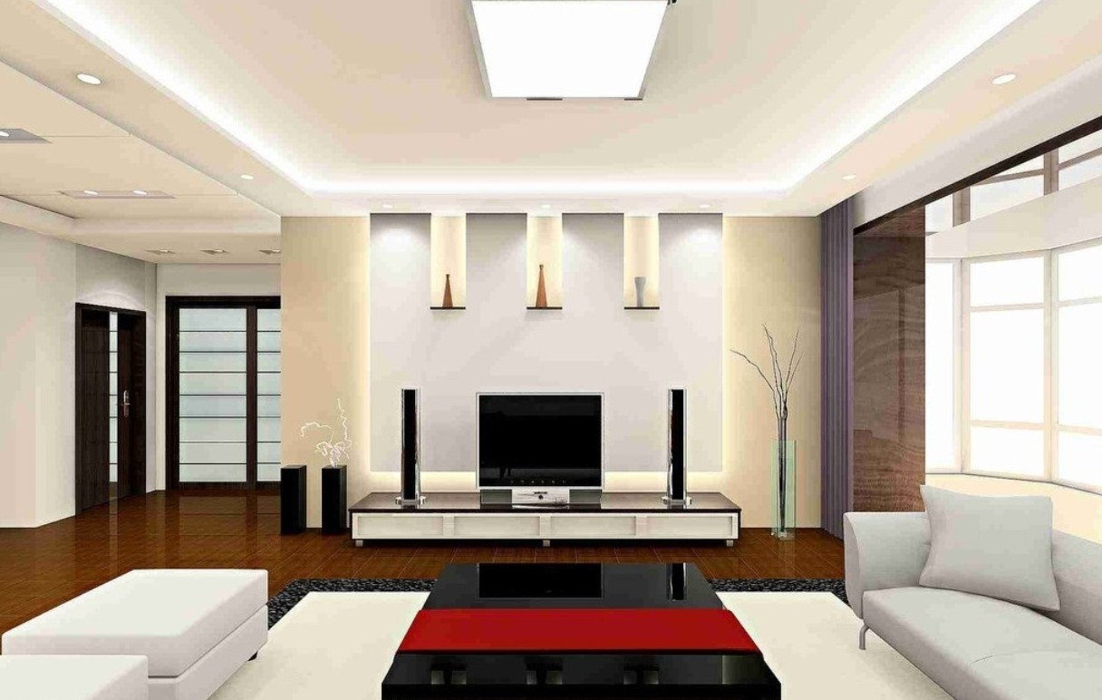 Impressive Ceiling Lamp For Living Room Lights Above Black Coffee Table