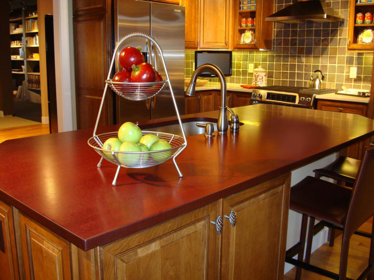 Stunning Wooden Cabinet Using Lush Countertop Plus Stainless Steel Faucet and Sink