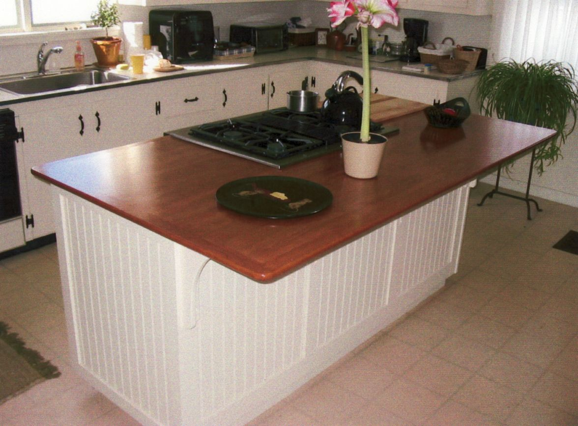 Wonderful Interior Kitchen Island With White Cabinet also Comely Countertop