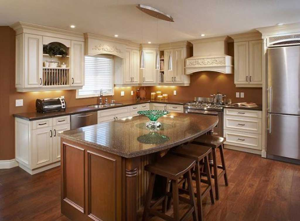 Wondrous Kitchen Islands Design With Impressive Furniture and Neat Lighting